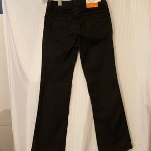 Piper, Kids size 6R/ER. Boot cut, blk jeans . NWT